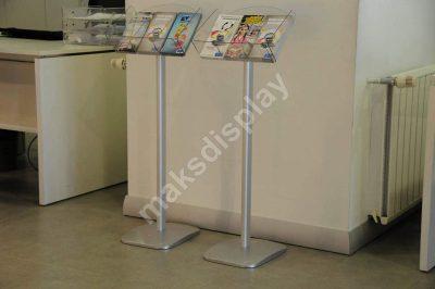 Decorative Brochure Stand