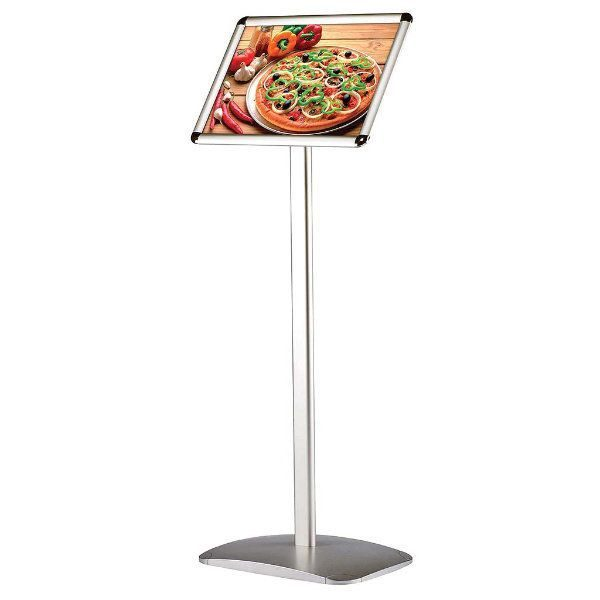 "11"" x 17"" Adjustable Decorative Floor Sign & Menu Stand"