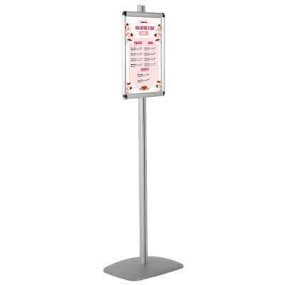 11x17 Adjustable Floor Menu Board & Floor Sign