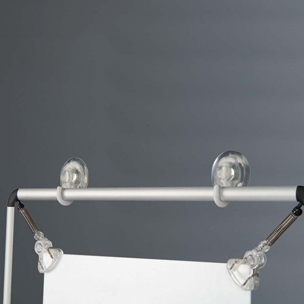 "11""w x 17""h Stretch Poster Holder - Silver Aluminum Profile"