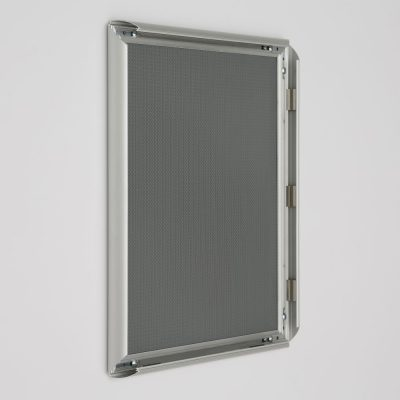 11x14 Snap Poster Frame 1 inch Silver Profile Mitered Corner