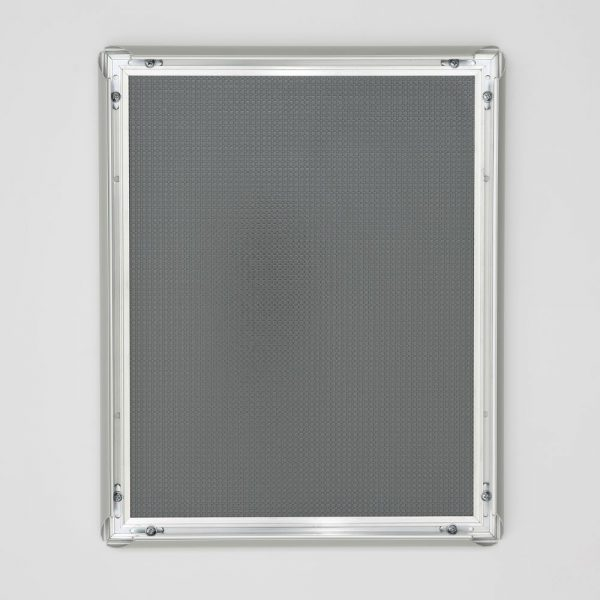 11x14 Snap Poster Frame 1 inch Silver Profile Mitered Corner (6)