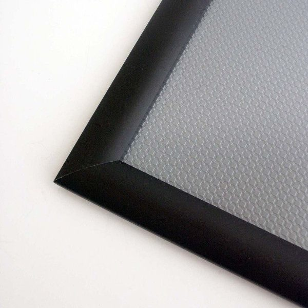11x17 Snap Poster Frame - 1 inch Black Profile, Mitred Corner