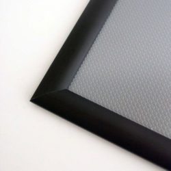 11x17 Window Frame - 1 inch Black Color Mitred Profile