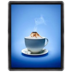 16x20 Snap Poster Frame - 1 inch Black Profile, Round Corner