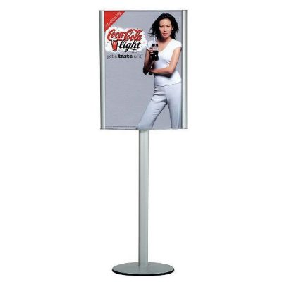 "18""w x 24""h Convex Box Poster Display Stand Without Lighting"