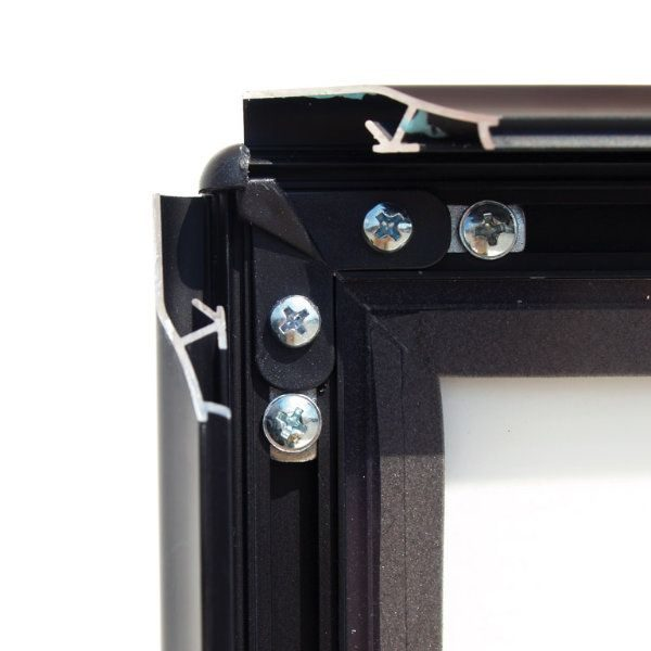 22x28 SwingPro Black Frame, Black Feet Sidewalk Sign