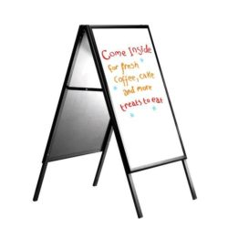 22x28 Write On A Frame Board Black Frame White Dry-wipe Surface