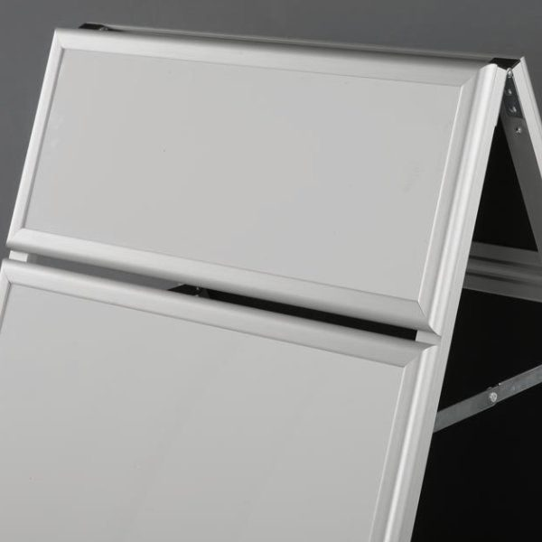 22x28 Write On A Frame Board Silver Frame White Dry-wipe Surface
