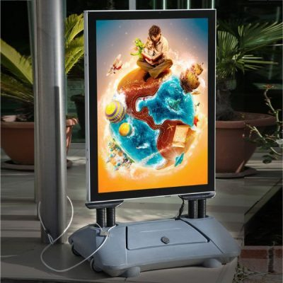 23.38x33.11 LED Illuminated WindPro Sidewalk Sign