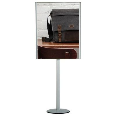 "24""w x 36""h Convex Box Poster Display Stand Without Lighting"
