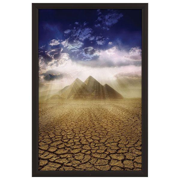 24x36 Lockable Weatherproof Outdoor Snap Poster Frame 138