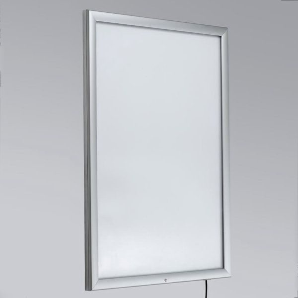 "26"" x 36"" Lockable Weatherproof Smart LED Light Box 1.38"" Profile"