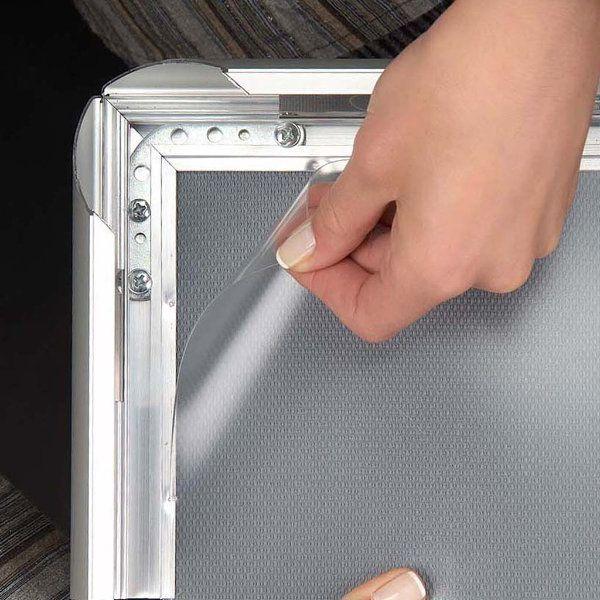 27x40 snap poster frame inch black profile safe round corner. Black Bedroom Furniture Sets. Home Design Ideas
