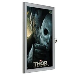 "36""w x 48""h Universal Poster Showboard Single Lock, Outdoor Use"