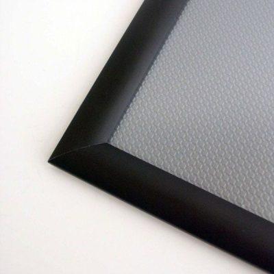 36x48 Snap Poster Frame - 1.25 inch Black Profile, Mitred Corner
