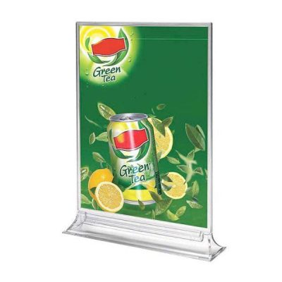 "4""w x 6""h Upright Leaflet & Sign Holder"