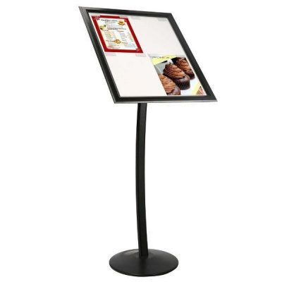 """4x(8.5"""" x 11"""") Paper & Poster Board Sign Black"""