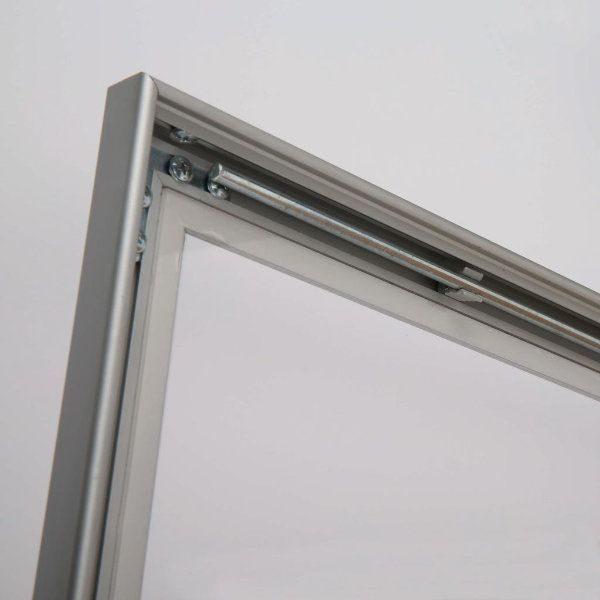 "4x(8.5""w x 11h"") Universal Showboard With Cork Aluminum Frame"