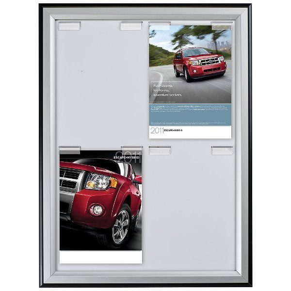 4x(8.5x11) Paper Board Frame - Poster Capacity