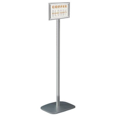 "8.5"" x 11"" Adjustable Floor Menu Board & Floor Sign Stand"