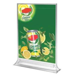 "8.5""w x 11""h Upright Leaflet & Sign Holder"