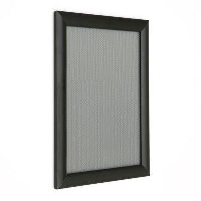 8.5x11 Snap Poster Frame - 1 inch Black Profile Mitered Corner