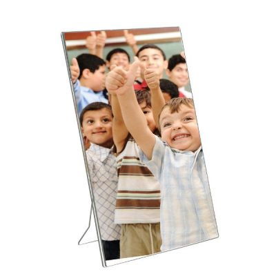 "8""w x 10""h Acrylic Picture Frame & Sign Holder"