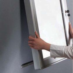 "9x(8.5""w x 11h"") Premium Magnet Bulletin Board Outdoor Use"