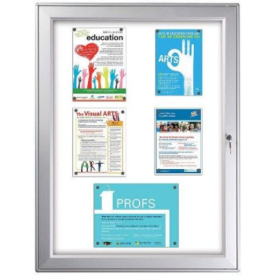 "9x(8.5""w x 11h"") Premium Magnet Bulletin Board Outdoor Use"