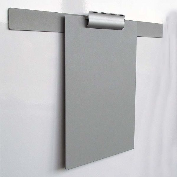 "Clip Board Grey, For 8.5""w x 11""h Papers Only Board"
