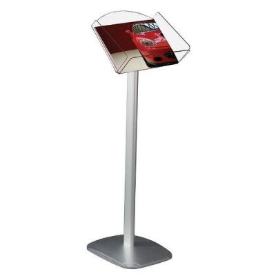 "Decorative Brochure Stand 8-1/2"" x 11"" Paper Area, Landscape"