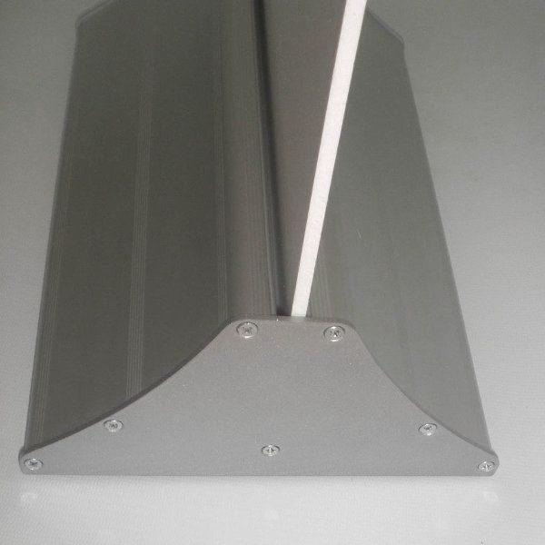 "Easy Swap 11-4/5"" Poster Width Silver Aluminium Base"