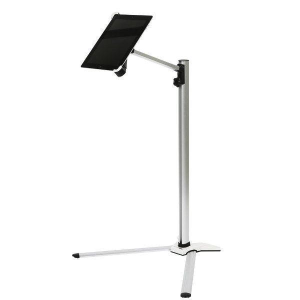 """iPad Floor Stand Universal 9. 7"""" - 10. 6"""" Adjustable, 360 Rotatable"""