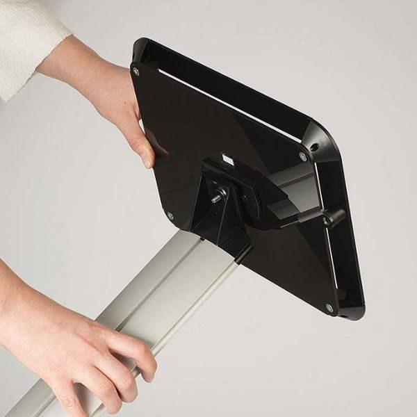 iPad Novel Kiosk Stand Acrylic Top Cover for iPad, iPad 2 & iPad 3