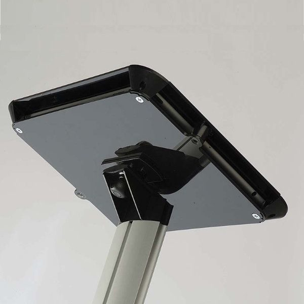 iPad Novel Kiosk Stand Acrylic Top Cover for iPad, iPad 2 & iPad 3