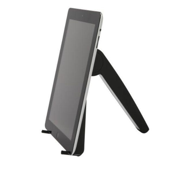 Katlanır Siyah Tablet Standı iPads ve tabletler İçin