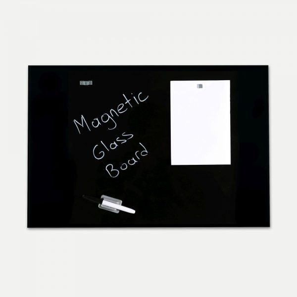 magnetic-glass-board-black-23-63-x-35-44-with-a-pen-4-magnetic-pins (1)