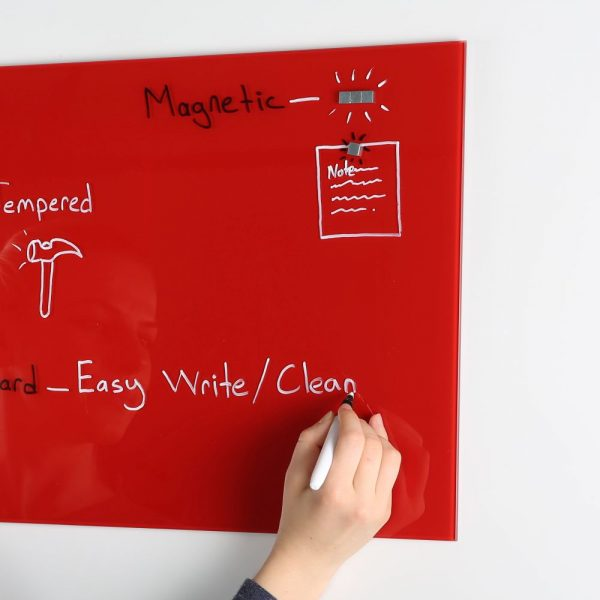 magnetic-glass-board-red-13-78-x-13-78-with-a-pen-4-magnetic-pins (3)