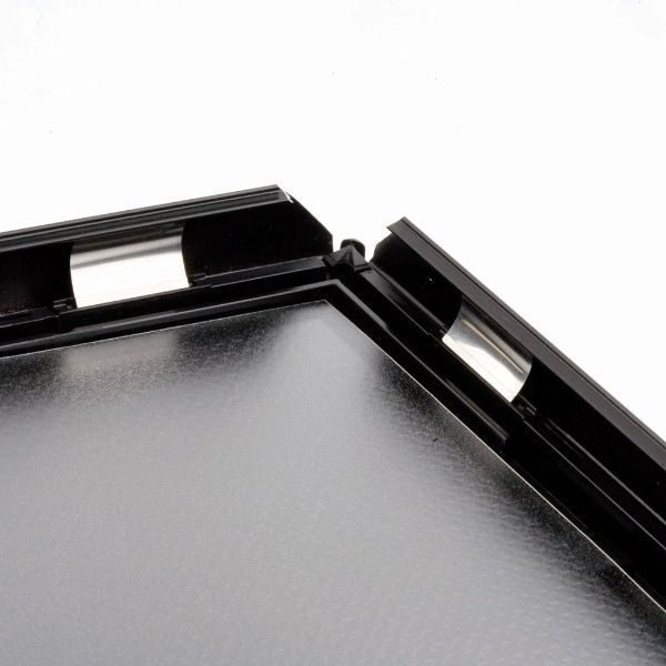 "Opti Frame 5"" x 7"" 0.55"" Black Mitered Profile, Without Back Support"