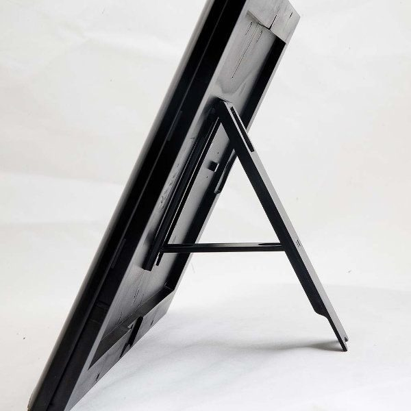 "Opti Frame 8.5"" x 11"" 1"" Black Mitred Profile With Back Support"