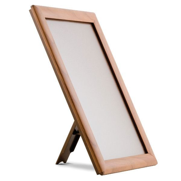 "Opti Frame 8.5"" x 11"" 1"" Wood Effect Mitred Profile With Back Support"