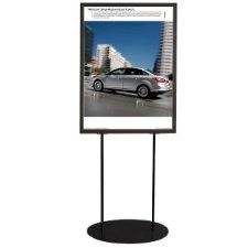 Oval Based Poster Stands