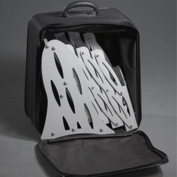 Portable Zig-Zag Rack Bag Black Optional Sold Separately