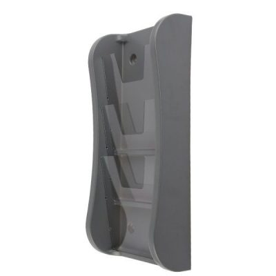 "Prime Wall Unit 3 Tiers, for 8.5"" X 11"" Graphics Gray"