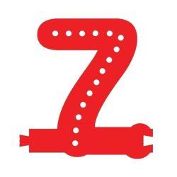 Smart Led Letter 7 Red Color