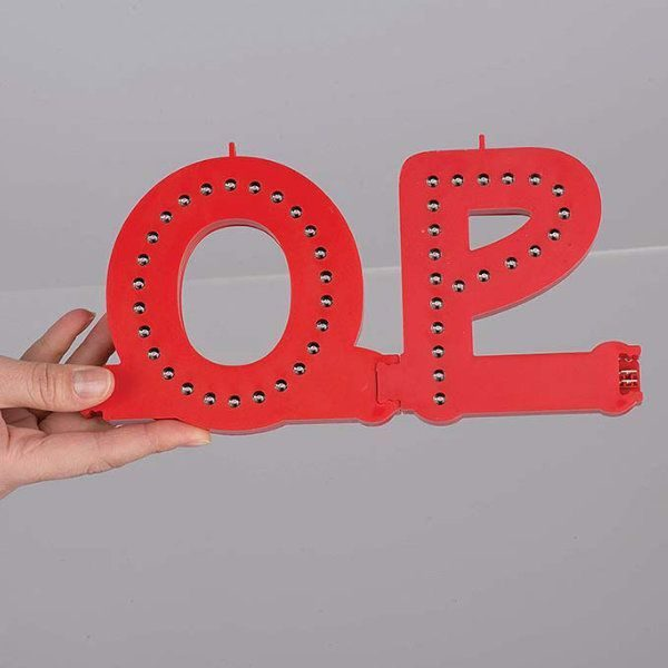Smart LED Letter A Red Color