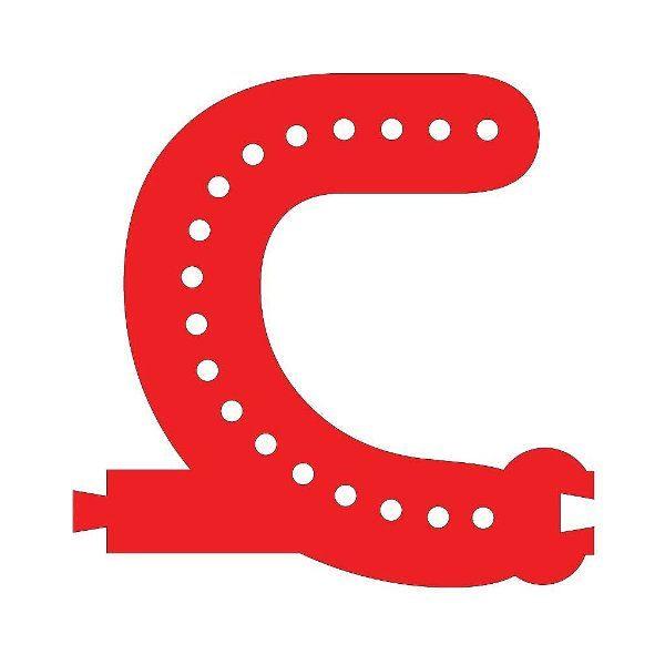 Smart Led Letter C Red Color