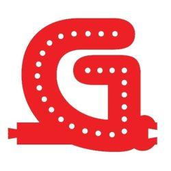 Smart Led Letter G Red Color