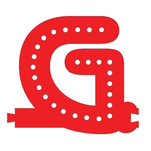 Smart Led Letter G Red Color